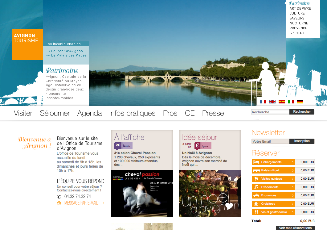 Office du Tourisme Avignon