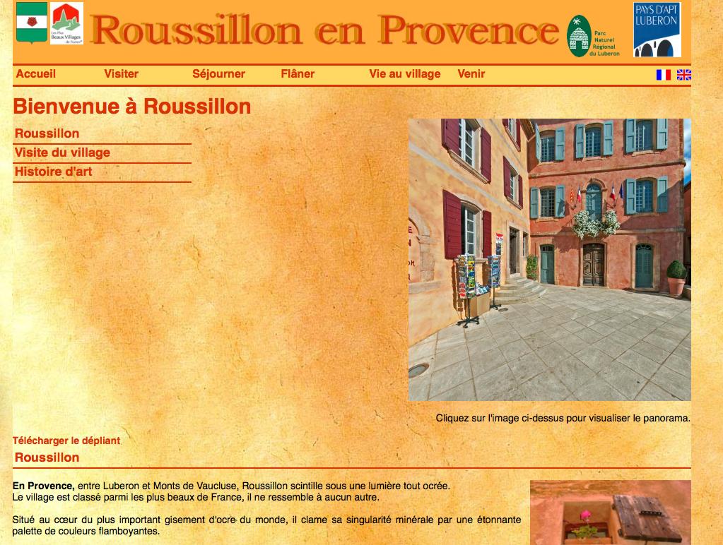 Office du Tourisme Rousillon